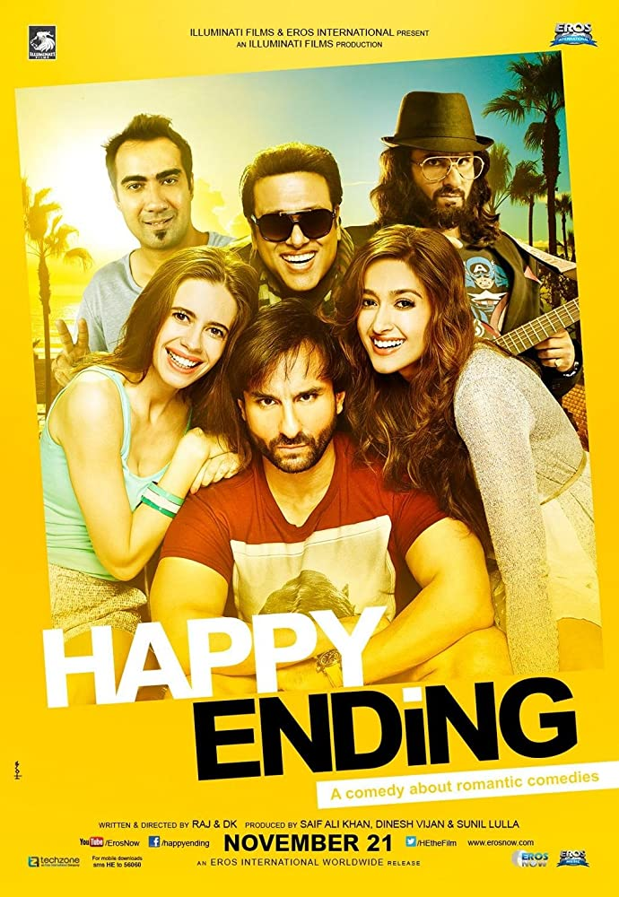 Happy Ending 2014 Hindi 720p HDRip x264 AAC - Hon3yHD