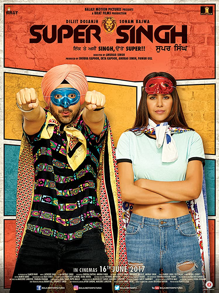 Super Singh 2017 Punjabi Movie 990MB