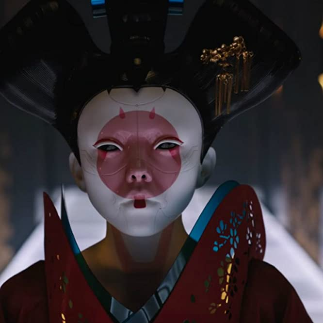Rila Fukushima and Jacqueline Lee Geurts in Ghost in the Shell (2017)