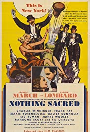 Nothing Sacred Poster