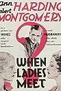 When Ladies Meet (1933) Poster