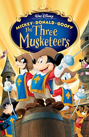 Mickey, Donald, Goofy: The Three Musketeers poster