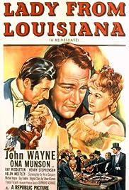 Lady from Louisiana Poster