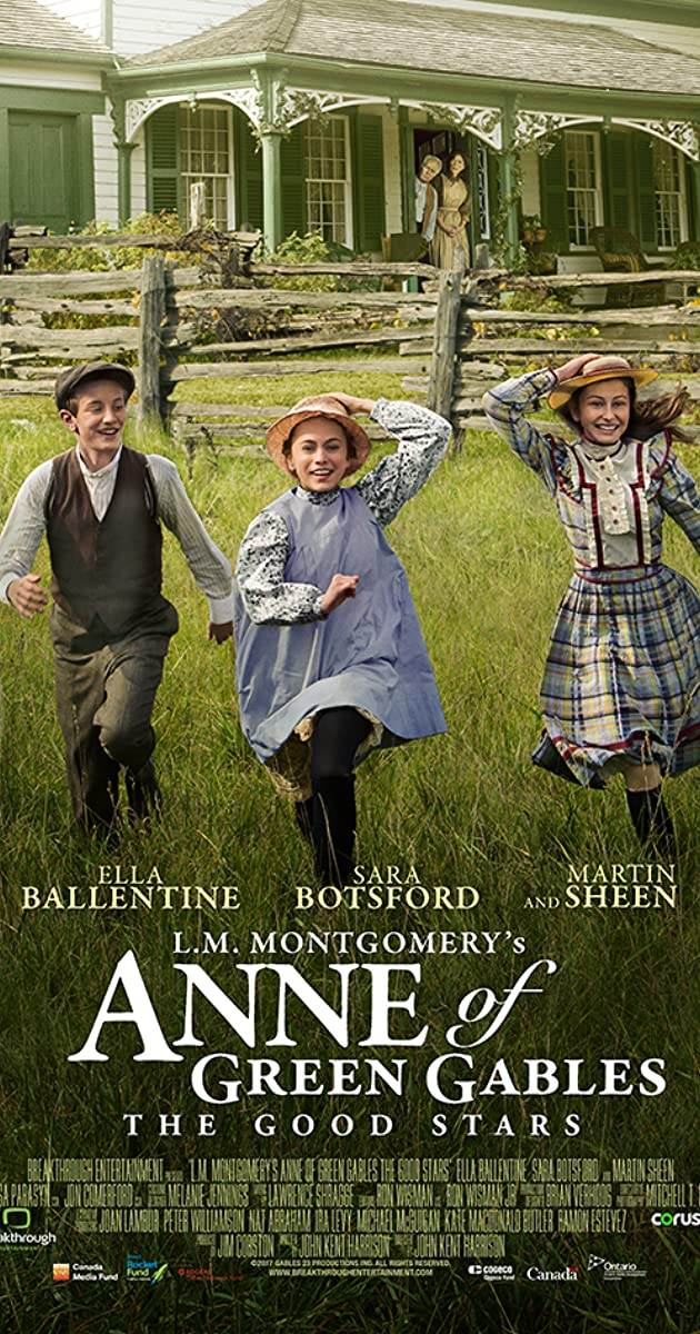 L M Montgomery S Anne Of Green Gables The Good Stars Tv
