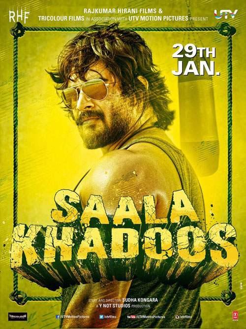 Saala Khadoos 2016 Hindi 720p DVDRip 800mb Download watch online at www.movies365.in