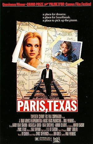 Paris, Texas poster