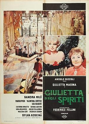 Juliet of the Spirits poster