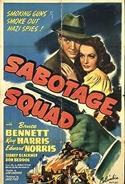 Sabotage Squad Poster