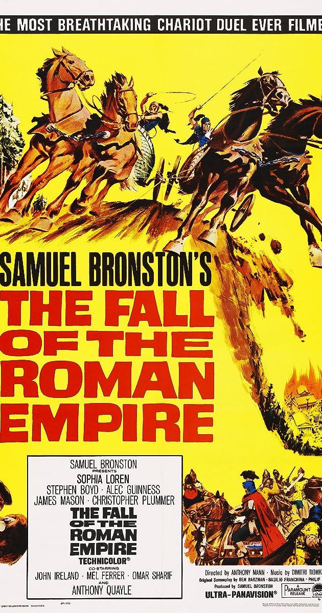 The Fall of the Roman Empire (1964) - IMDb