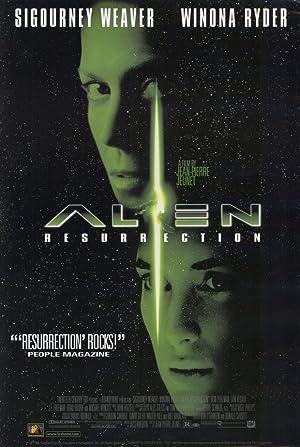 Alien: Resurrection poster