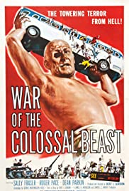 War of the Colossal Beast Poster