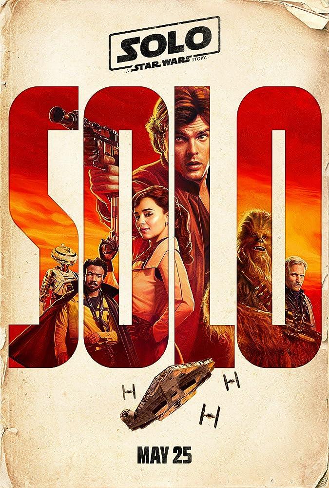 Woody Harrelson, Donald Glover, Alden Ehrenreich, Emilia Clarke, and Joonas Suotamo in Solo: A Star Wars Story (2018)
