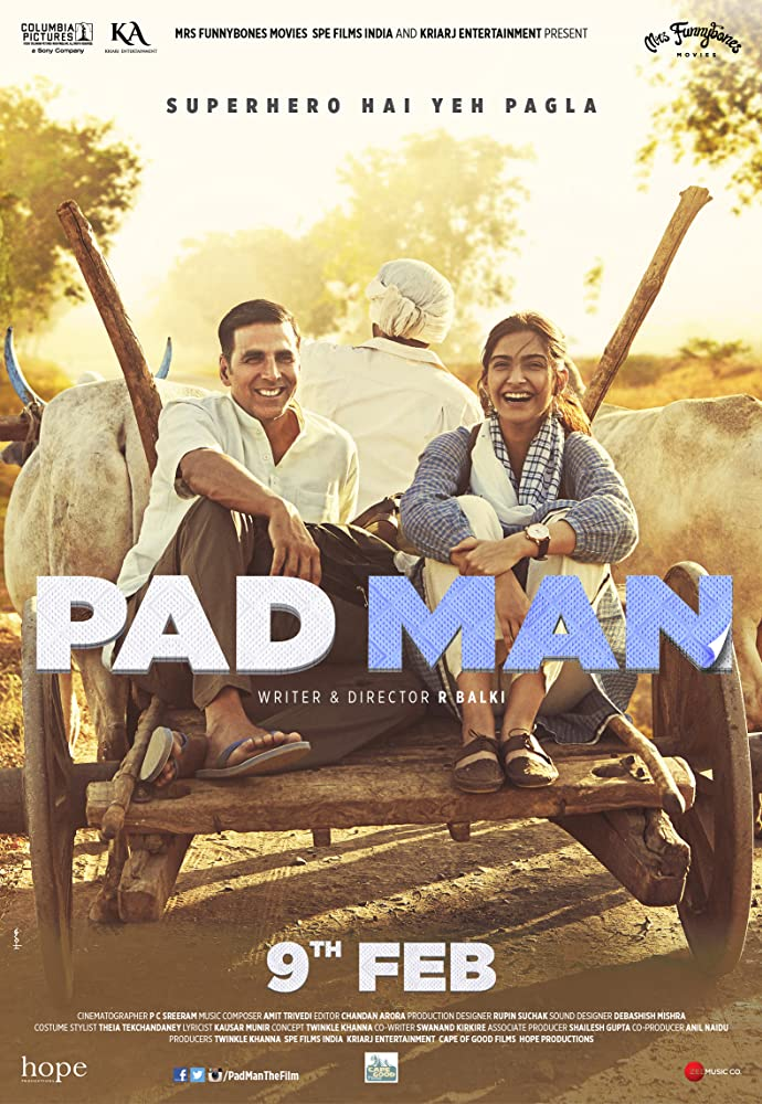 Padman (2018) Hindi DVDRip 700MB ESubs MKV