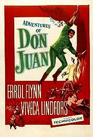 Adventures of Don Juan Poster