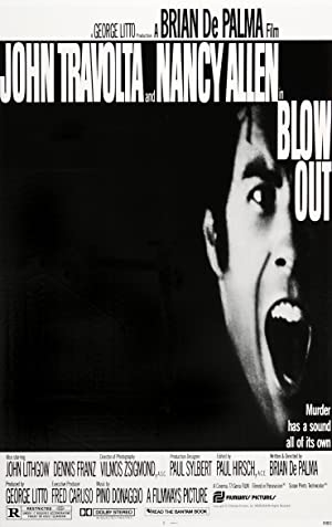 Blow Out Pelicula Poster