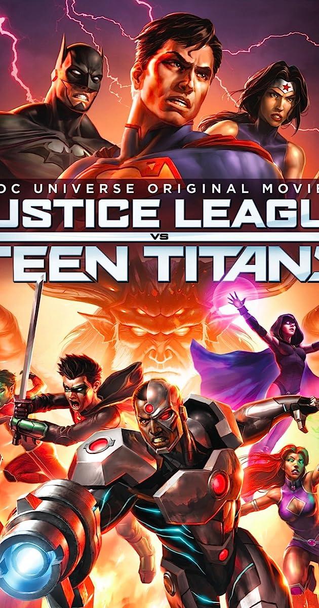 justice league vs teen titans video 2016 imdb