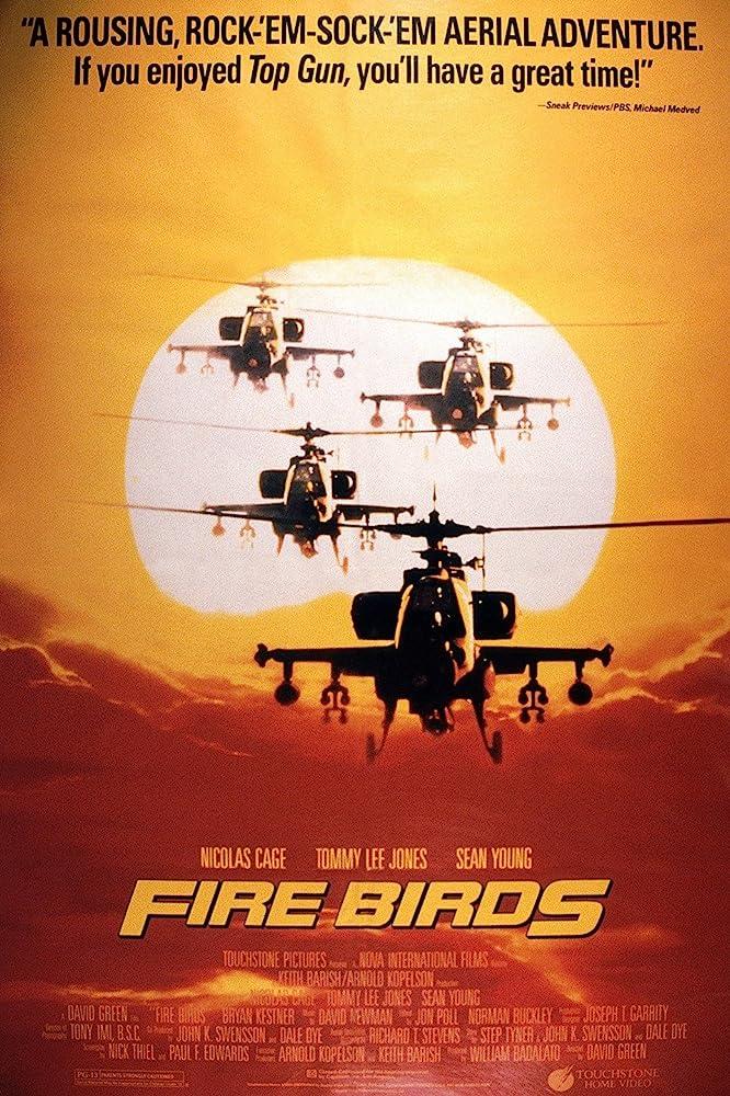 Fire Birds Movie Poster