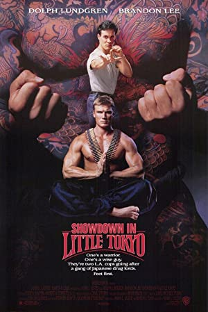 Showdown in Little Tokyo poster