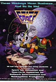 Captain Simian & The Space Monkeys Poster