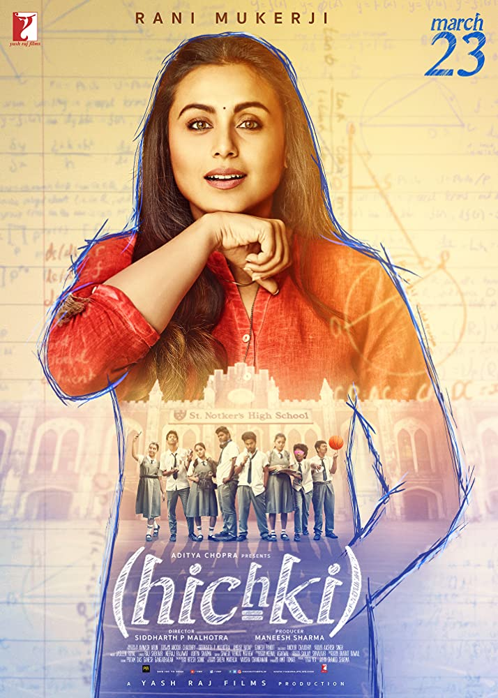 Hichki 2018 Hindi Full Movie 720MB