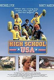 High School U.S.A. Poster