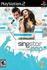 SingStar Pop Poster