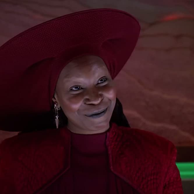 Whoopi Goldberg in Star Trek: The Next Generation (1987)