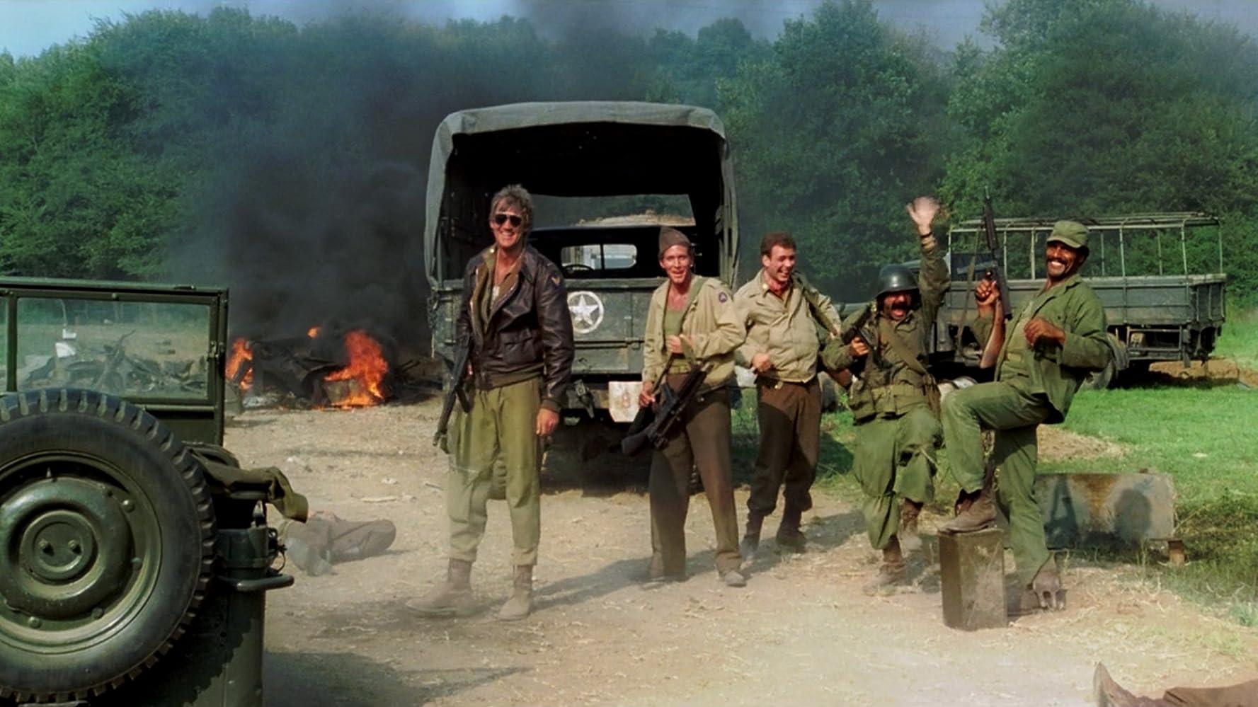 Bo Svenson, Fred Williamson, Jackie Basehart, Peter Hooten, and Michael Pergolani in Quel maledetto treno blindato (1978)