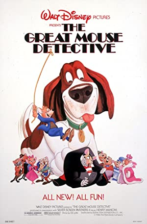 The Great Mouse Detective Pelicula Poster