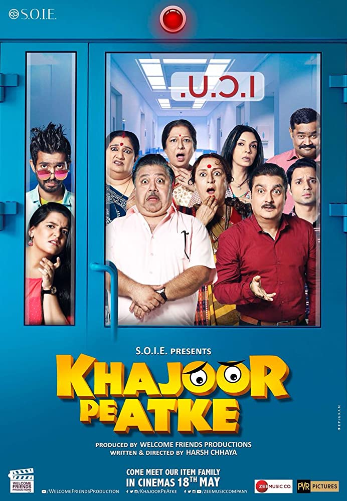 KHAJOOR PE ATKE (2018) MOVIE OFFICIAL TRAILER