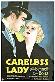 Careless Lady Poster