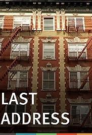 Last Address Poster