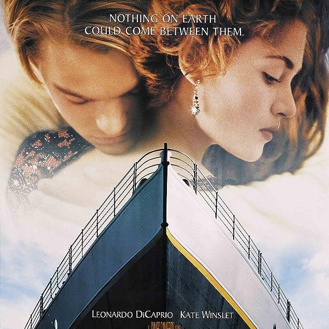 Leonardo DiCaprio and Kate Winslet in Titanic (1997)