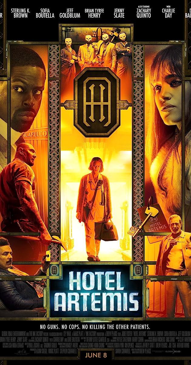 Image result for hotel artemis poster