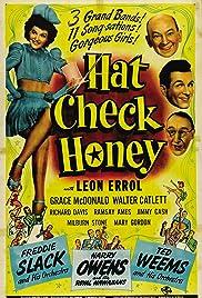 Hat Check Honey Poster