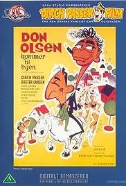 Don Olsen kommer til byen(1964) Poster - Movie Forum, Cast, Reviews