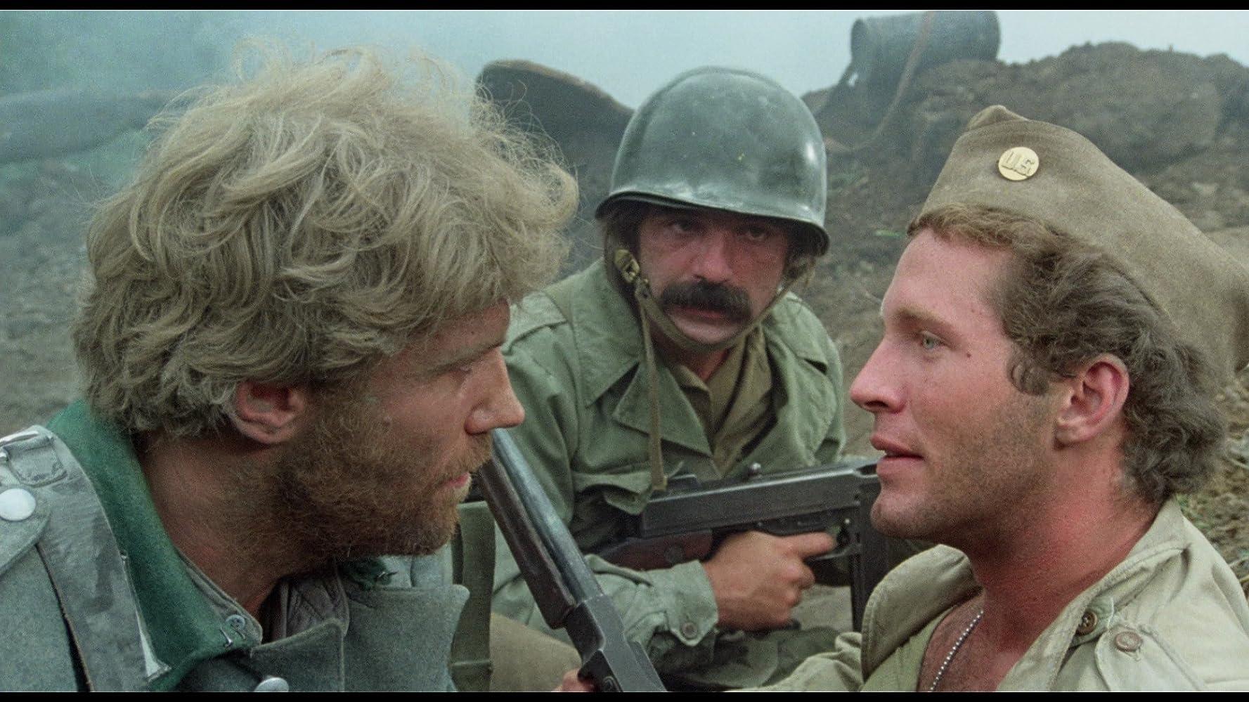 Raimund Harmstorf, Peter Hooten, and Michael Pergolani in Quel maledetto treno blindato (1978)