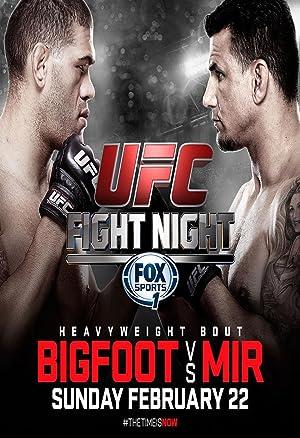 UFC Fight Night: Bigfoot vs. Mir