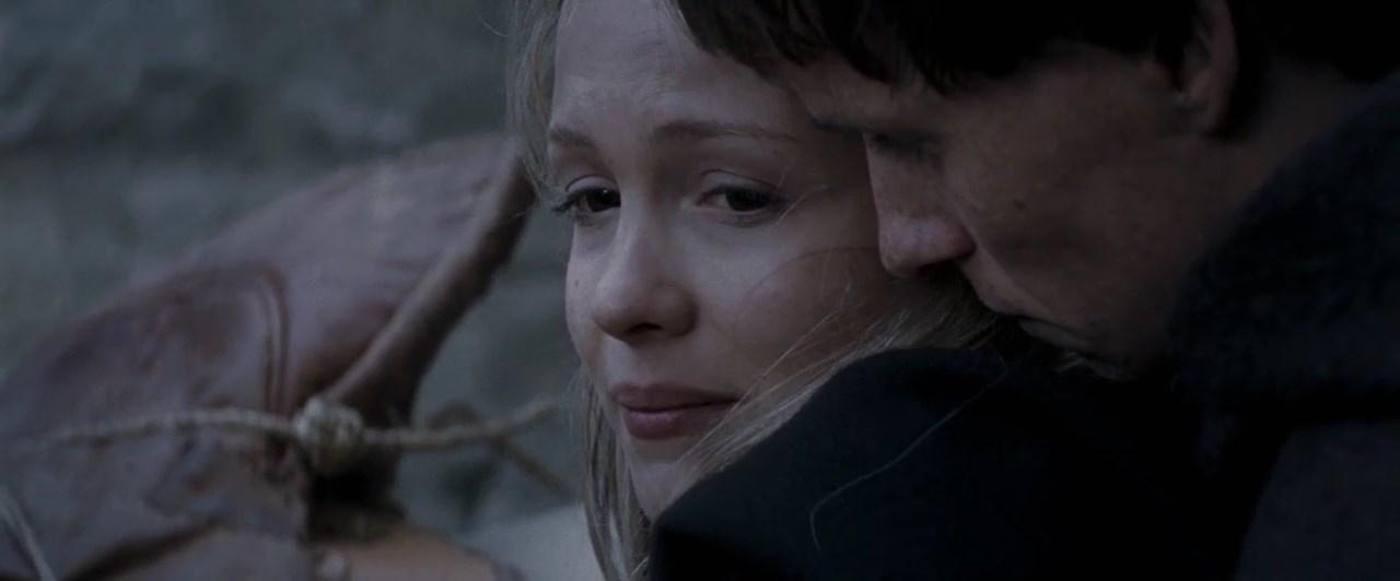 Eddie Redmayne and Kimberley Nixon in Black Death (2010)