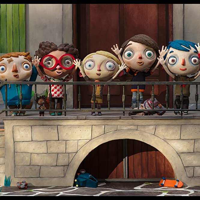 Paulin Jaccoud, Gaspard Schlatter, Sixtine Murat, Raul Ribera, Estelle Hennard, Elliot Sanchez, and Lou Wick in My Life as a Zucchini (2016)