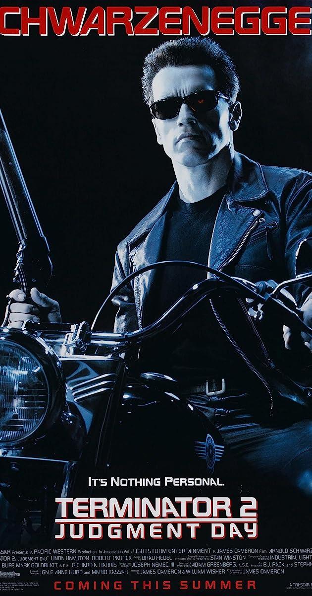 Terminator 2: Judgment Day (Original Soundtrack Recording ...  |The Terminator 2 Cover