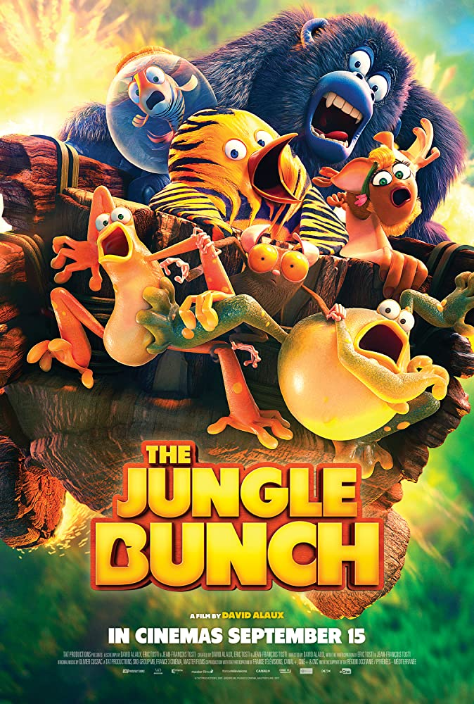 The Jungle Bunch (Les as de la jungle) 2018 English Movie HDRip 400MB MKV