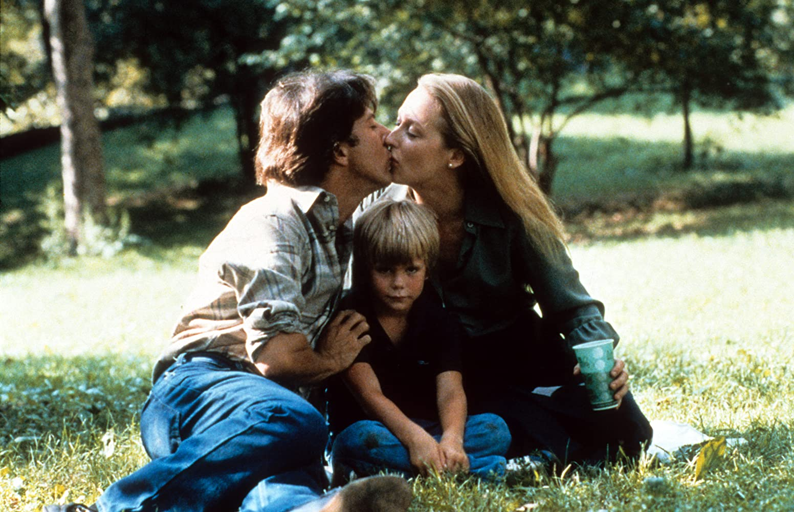 Dustin Hoffman, Meryl Streep, and Justin Henry in Kramer vs. Kramer (1979)