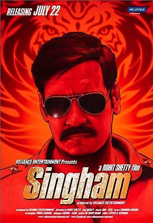 Singham poster