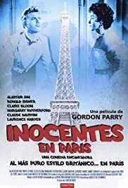 Innocents in Paris (1953) Poster - Movie Forum, Cast, Reviews