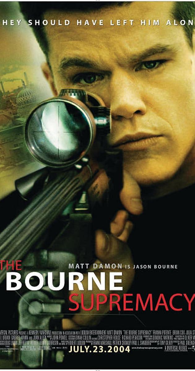 The Bourne Supremacy (2004) - IMDb