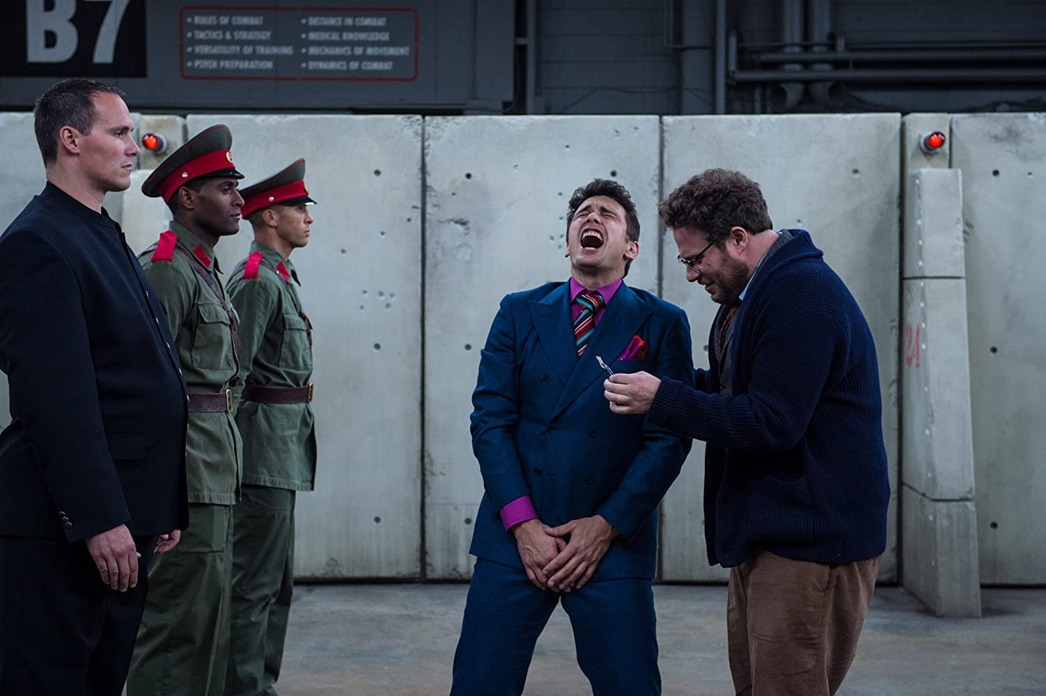 James Franco and Seth Rogen in The Interview (2014)