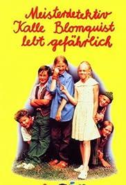 Kalle Blomkvist - Mästerdetektiven lever farligt Poster