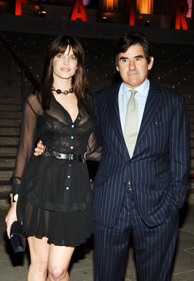 how did stephanie seymour and peter brant meet