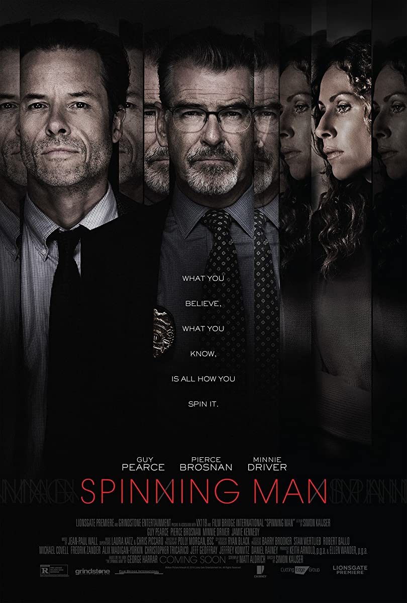 Klaidingi įrodymai / Spinning Man (2018)